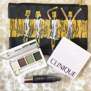 Never used Clinique makeup bundle